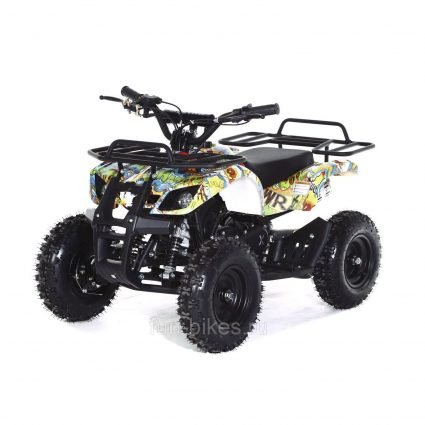 Квадроцикл детский бензиновый MOTAX ATV Х-16 Мини-Гризли Бомбер (механический стартер, задний привод, до 45 км/ч)
