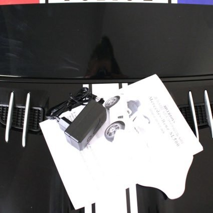 Электромобиль Mercedes-Benz SL500 AMG Police (полицейский, колеса резина, кресло кожа, пульт, музыка)